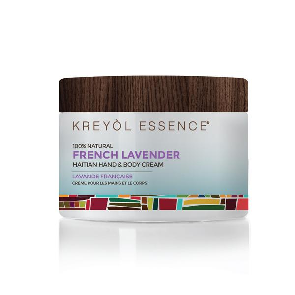 Haitian Hand & Body Crème French Lavender 100% Natural