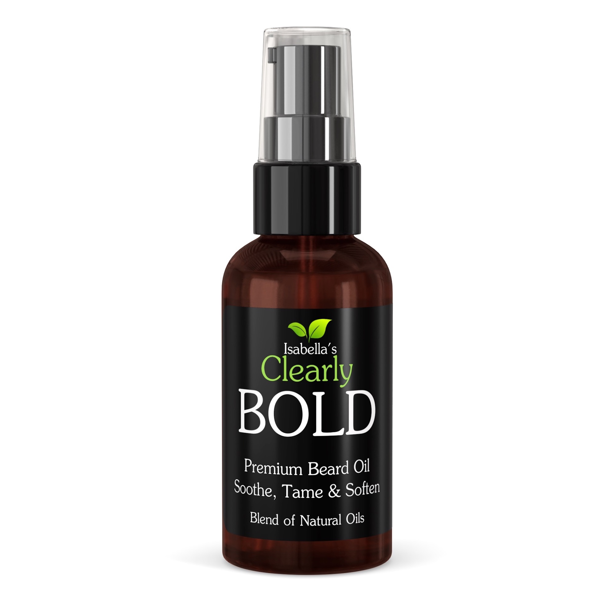 Clearly BOLD, Natural Beard Oil and Conditioner