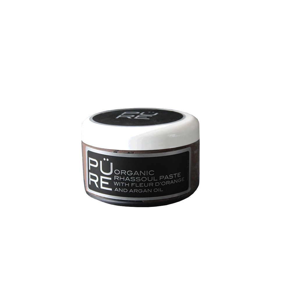 Rhassoul Paste with Fleur d'Orange and Argan Oil Organic 150m