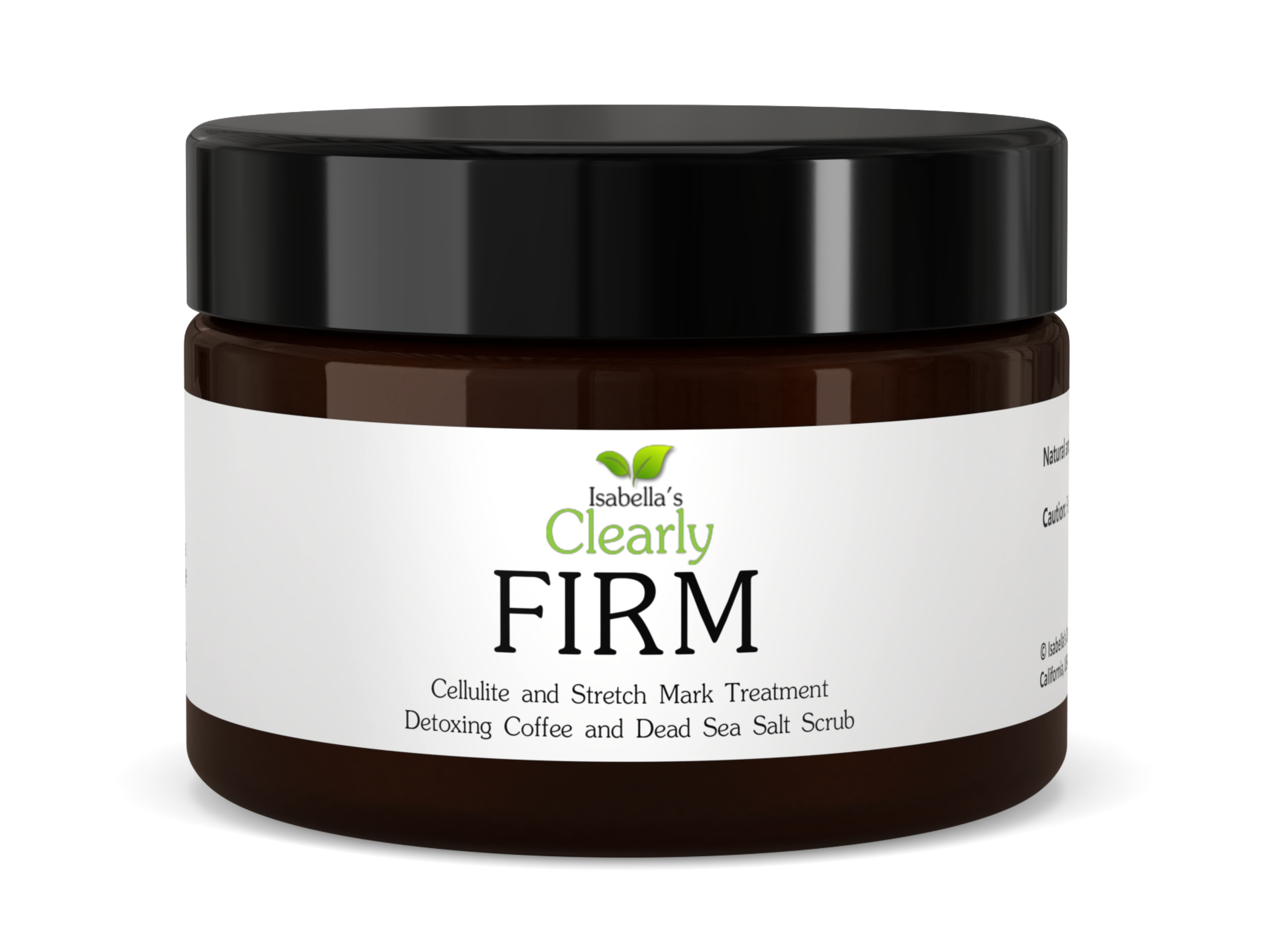 Clearly FIRM, Coffee and Sea Salt Scrub Cellulite Treatment