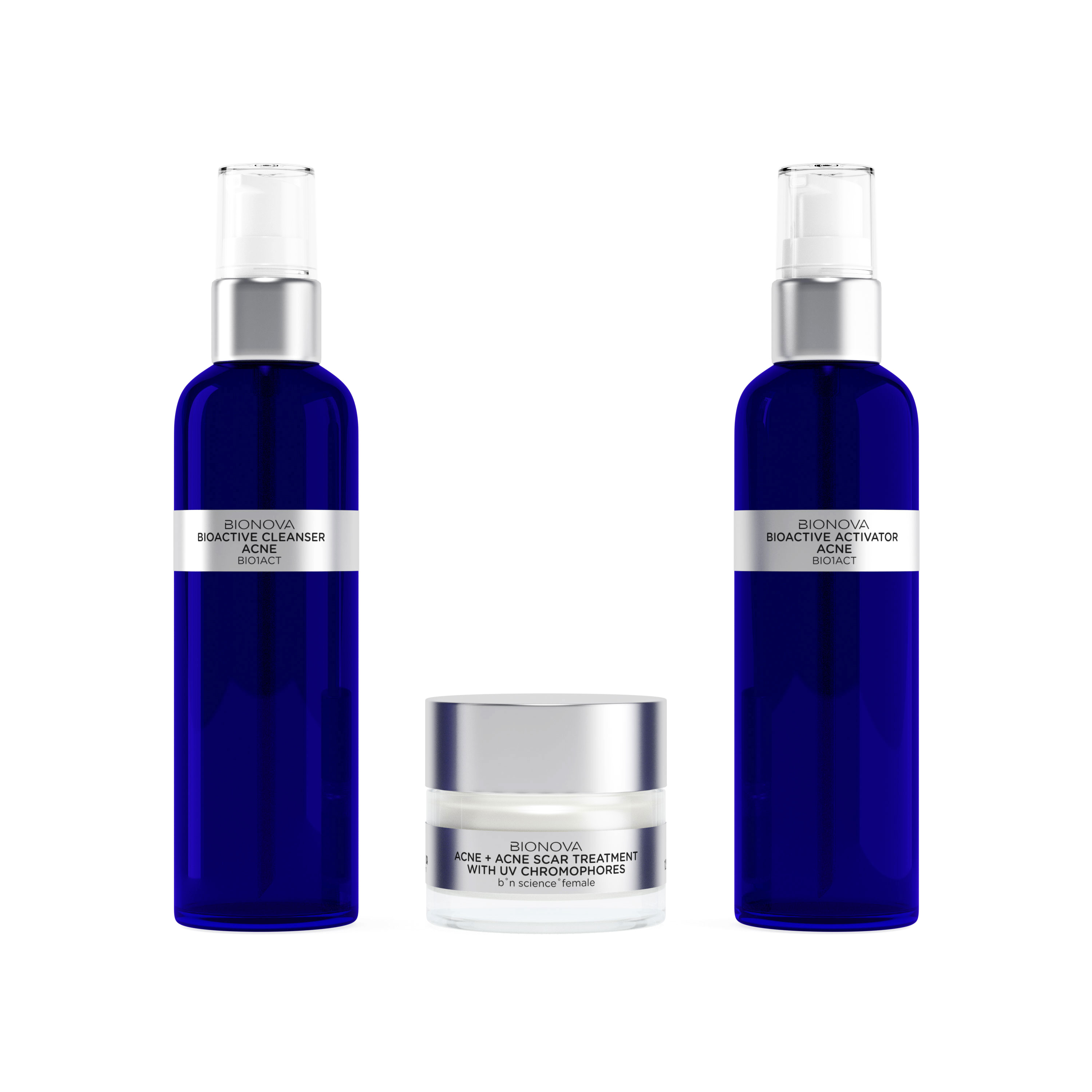 Acne + Acne Scar Discovery Collection Trial Kit  ($101.90 VALUE)