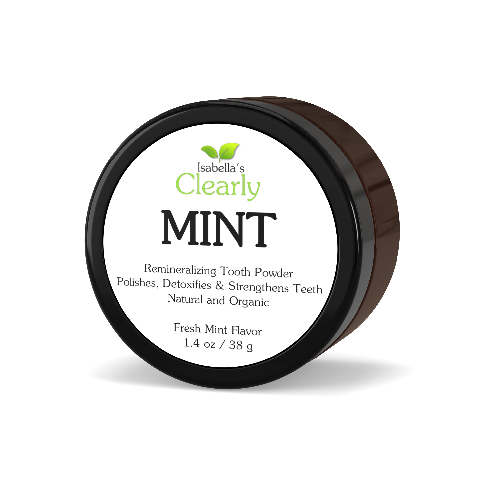 Clearly MINT, Remineralizing Tooth Powder (Fresh Mint)