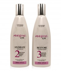 HYDRATE Shampoo + RESTORE Conditioner(Save 10%)