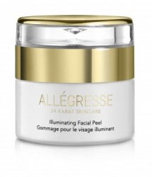 ALLEGRESSE 24K Gold Illuminating Facial Peel