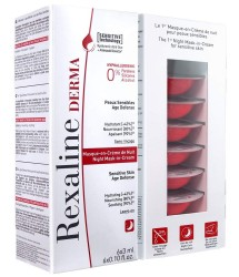 Rexaline Derma - Night Mask-in-Cream - Hydrating night mask with hyaluronic acid