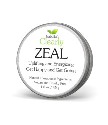 Clearly ZEAL, Uplifting and Energizing Happiness Balm