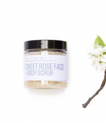 Sweet Rose Face and Body Scrub