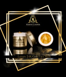 Image of 24 Karat Gold Face Mask - Anti Ageing Skin Cream - Harvey Cooper Image of 24 Karat Gold Fa