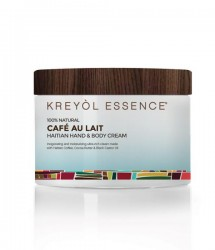 Haitian Hand & Body Crème Cafe Au Lait 100% Natural