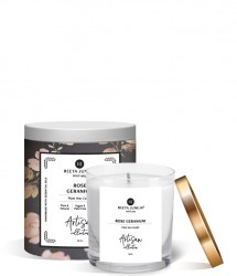 ARTISAN COLLECTION ROSE GERANIUM ROOM CANDLE