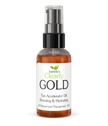 Clearly GOLD, Bronzing and Hydrating Sun Tanning Oil